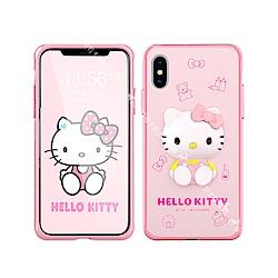 Hello Kitty iPhone Xs Max 6.5吋 3D立體手機殼(甜點)