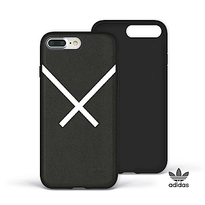 adidas iPhone 7/8 Plus XBYO 麂皮絨面貼皮背蓋手機殼 ...