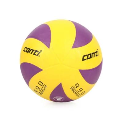 conti 5號頂級超世代橡膠排球 CONTI 黃紫