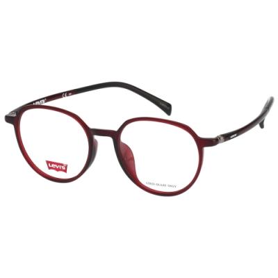 Levi s 光學眼鏡 (紅色)LV7000F