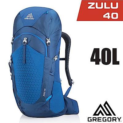 美國 GREGORY Zulu 40 專業健行登山背包40L_帝國藍