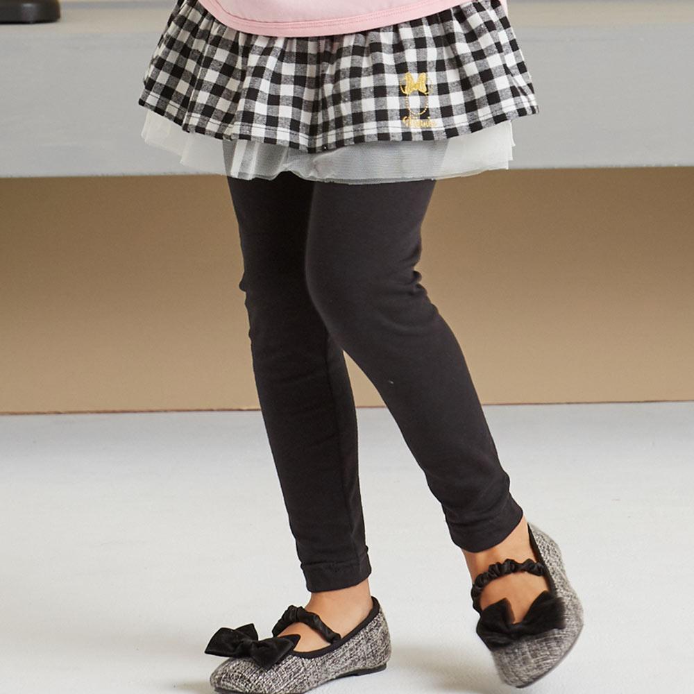 Disney 米妮系列格紋假二件褲裙(共2色)