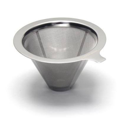 CAFEDE KONA 雙層不鏽鋼濾網(1-2cup)