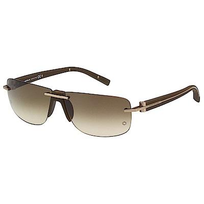 萬寶龍 MONTBLANC-太陽眼鏡(咖啡色)MB360S