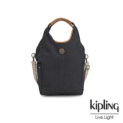 Kipling 城市探索霧灰肩背側背包-URBANA-EDGELAND系列