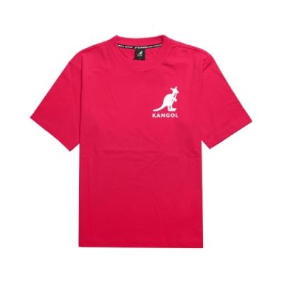 Kangol T恤 Printed Tee 運動休閒 男款 袋鼠 圓領 基本款 棉質 穿搭推薦 紅 白 6021101442