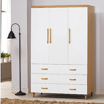 MUNA德恩4X7尺衣櫥(衣櫃) 121X58X192cm