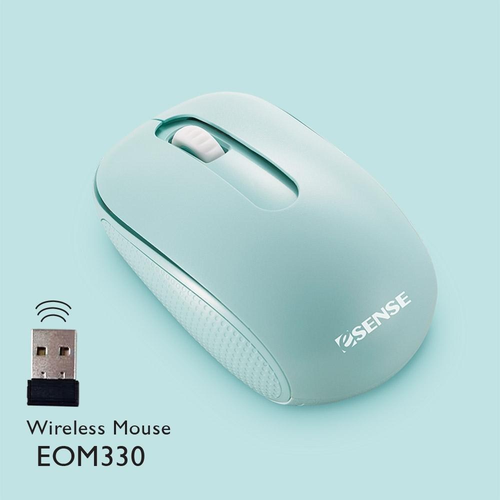 Esense EOM330 無線滑鼠極靜音(三色可選) product image 1