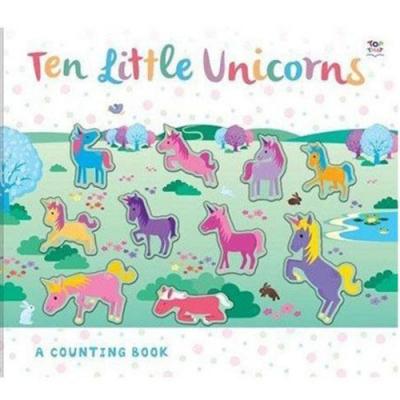 Ten Little Unicorns 十隻獨角獸數數學習書