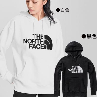 [時時樂限定]TNF 男女休閒LOGO連帽T(2色任選)