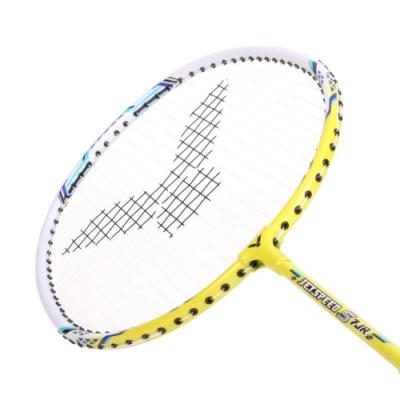 VICTOR 兒童短桿極速穿線拍-羽毛球拍 羽球 勝利 JS-7JR 黃白藍
