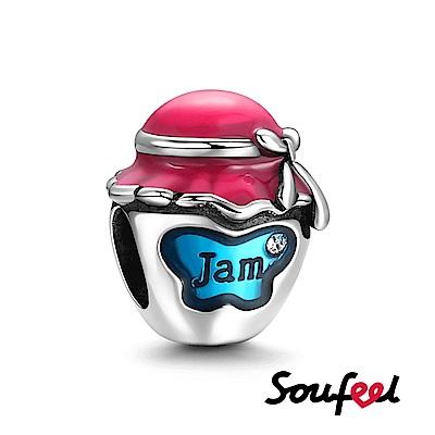 SOUFEEL索菲爾 925純銀珠飾 果醬 串珠