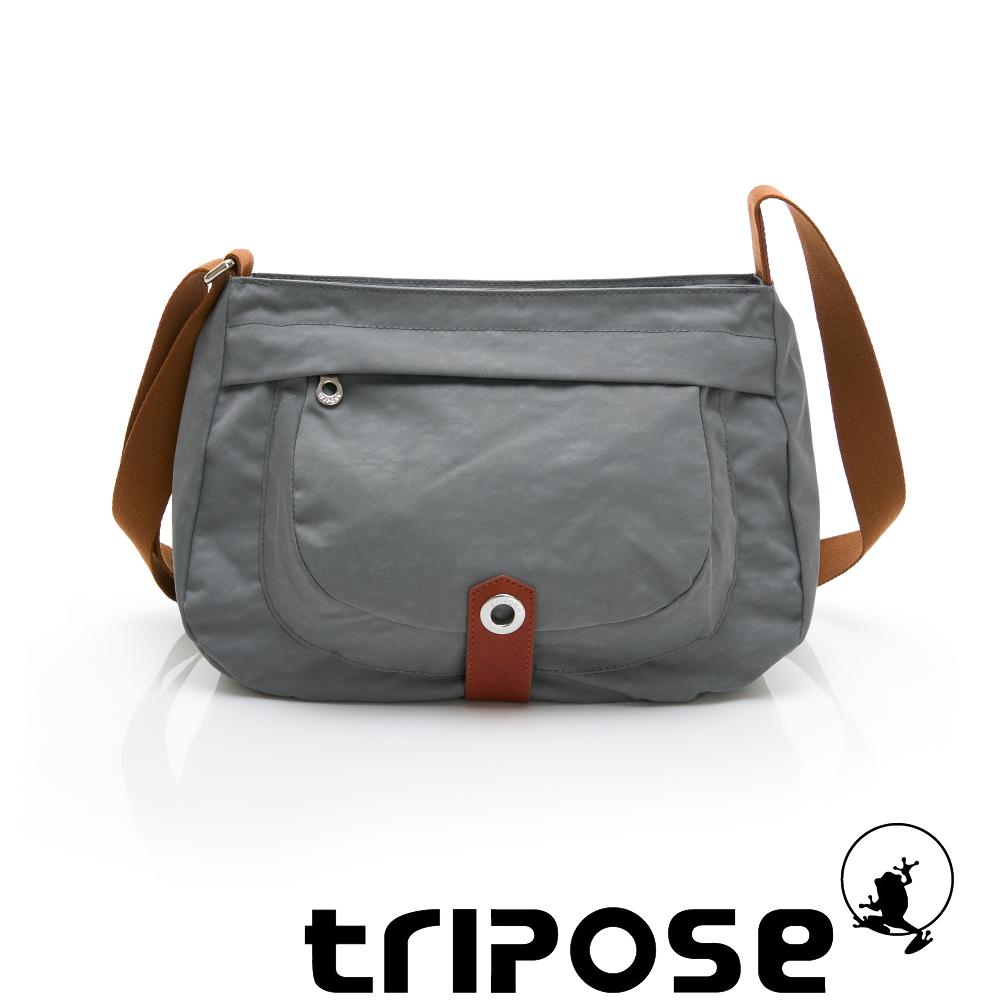 tripose 微旅系列淑女側肩包 灰色