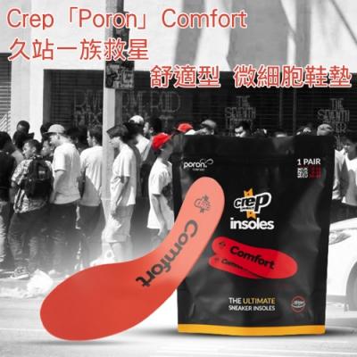Crep「Poron 」Comfort 舒適型 微細胞鞋墊 - 紅