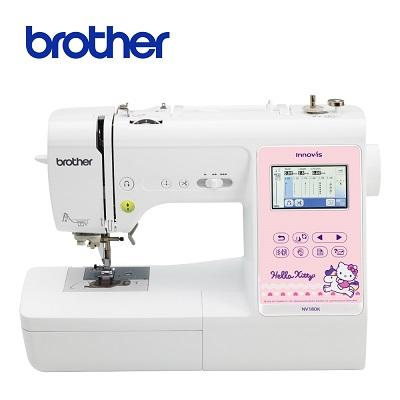 (無卡分期)日本Brother NV-180K Hello Kitty電腦刺繡縫紉機