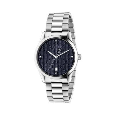 GUCCI diamantissima 流行時尚元素腕錶38mm(YA1264025)