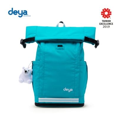 deya 海洋回收捲式機能淨灘背包-藍