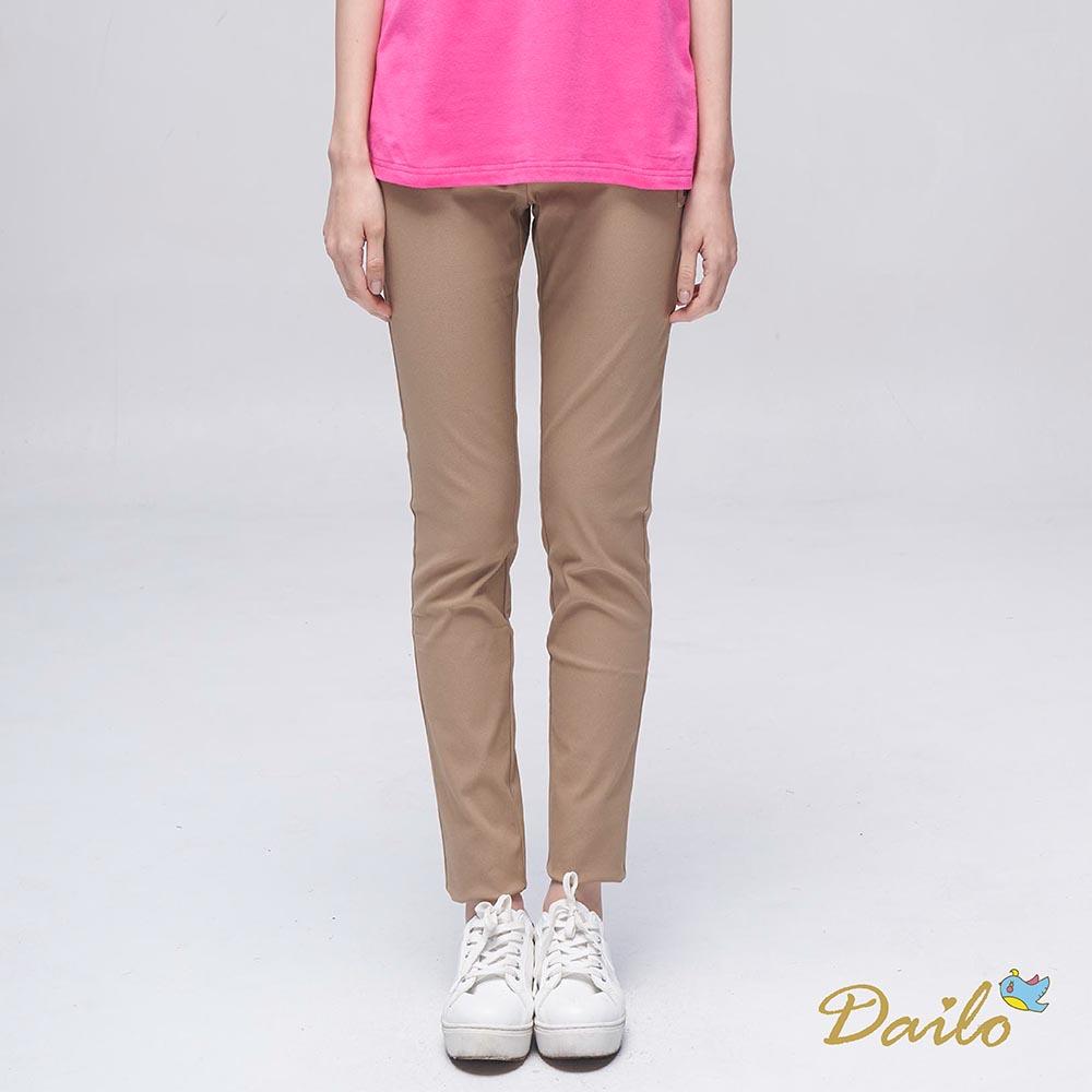 【DAILO】Q造顯瘦口袋-長褲(共三色)