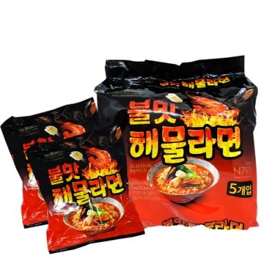 NO BRAND 海鮮炒碼風味拉麵(120gx5包)