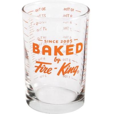 《FOXRUN》Anchor耐熱玻璃量杯(橘150ml)