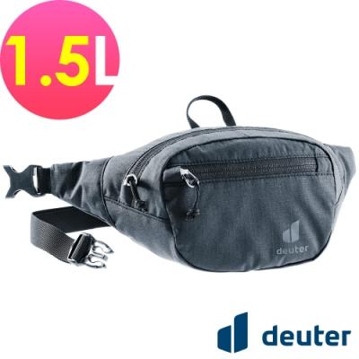 【deuter 德國】BELT I 1.5L休閒輕量腰包3900121黑/胸包/側背包/路跑/慢跑