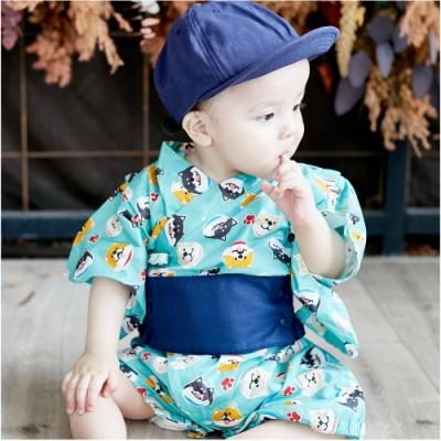 Baby童衣 包屁衣 夏日浴衣連身衣 90025(共6色)