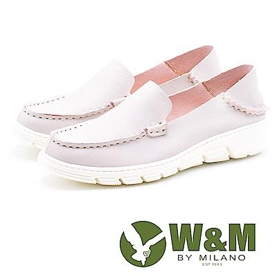 W&M 休閒舒適 百搭便鞋 女鞋-粉(另有灰、藍)