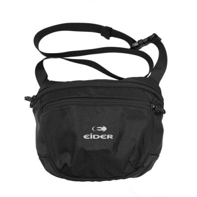 法國【EiDER】輕量防潑水多功能側背包 / 8EIV5805-黑