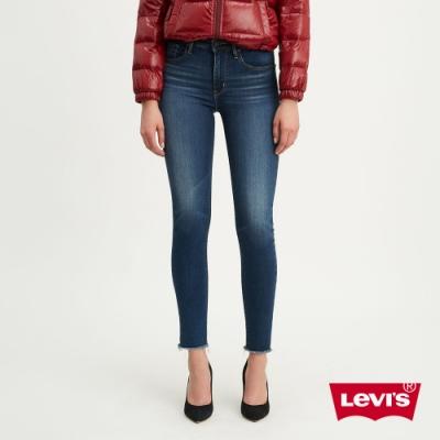 Levis 女款 721 高腰緊身窄管牛仔褲 保暖纖維 內刷毛 彈性布料