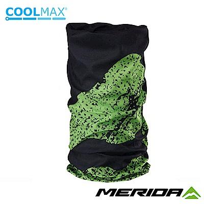 《MERIDA》美利達 Coolmax頭巾 黑/綠 2309004061