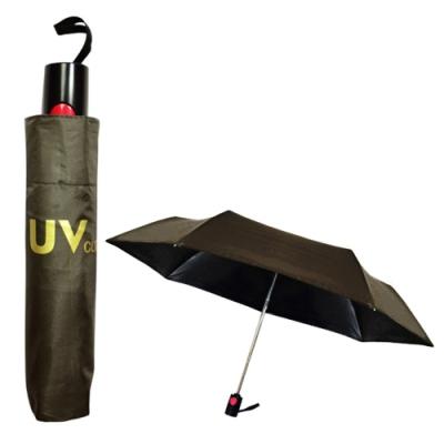 【BWW嚴選】飛蘭蔻 3184 黑膠自動開收涼感傘 (隨機出貨)