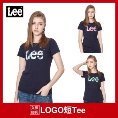 【時時樂限定】LEE熱銷女生Logo短T-五款選