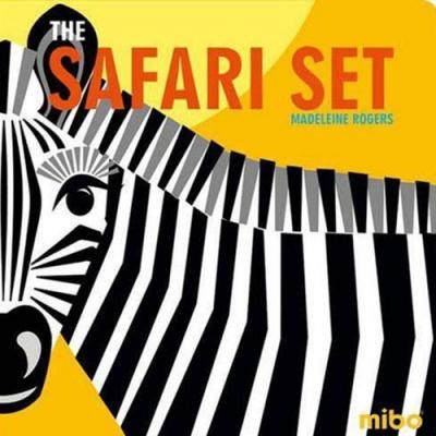 The Safari Set 非洲草原 硬頁書