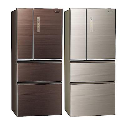 [無卡分期12期]Panasonic國際牌 四門 電冰箱 NR-D619NHGS