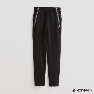 Hang Ten - 童裝 -ThermoContro-腰部造型運動機能長褲-黑