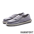 HANNFORT COZY 小豬動物家族懶人鞋-女-藕紫
