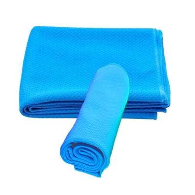 金德恩 台灣製造 降溫利器 運動冰涼巾 80x30cm 四色可選