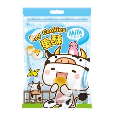 饅頭家族蛋酥-牛奶口味(100g)