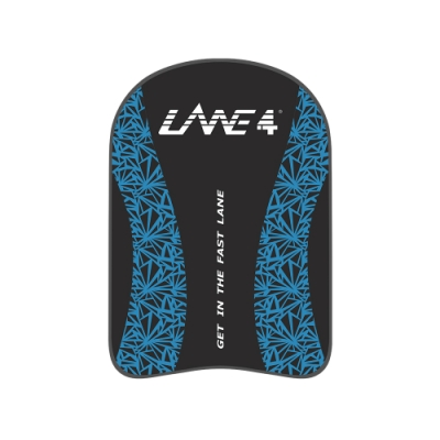 羚活 競速訓練游泳浮板 LANE4 CLASSICAL FROZEN