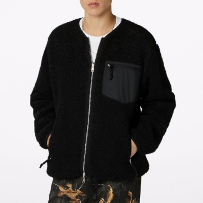 CONVERSE UTILITY REVERSIBLE SHERPA JACKET 男 雙面外套 黑 10019461-A02