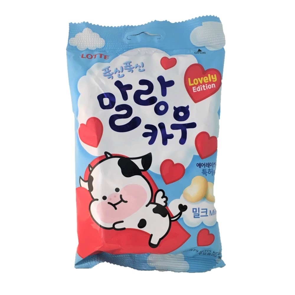 LOTTE 牛奶棉花糖(牛奶)79g