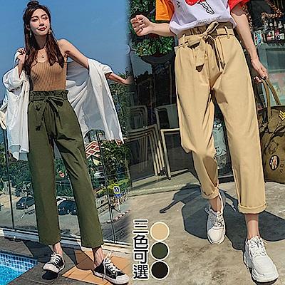 【韓國K.W.】話題單品愛情哈倫褲-3色