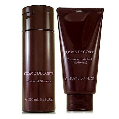 COSME DECORTE黛珂 Delavie修護洗髮乳200ml+護髮膜160ml