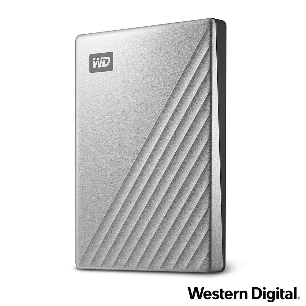 WD My Passport Ultra 2TB(炫光銀) 2.5吋USB-C行動硬碟