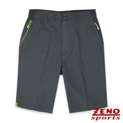 ZENO 極速快乾四面彈機能短褲‧深灰