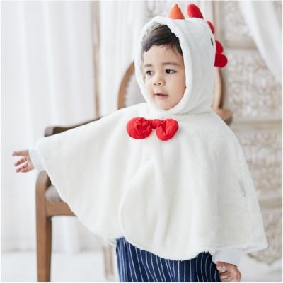 Baby童衣 保暖披肩 保暖外套 厚款連帽外套 92014