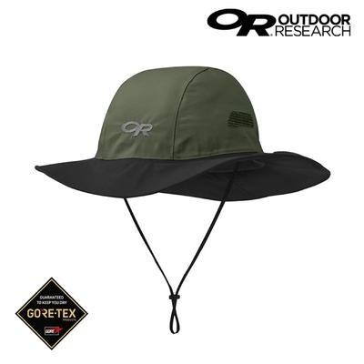 Outdoor Research Gore-Tex防水透氣大盤帽 280135【深綠Fatigue/Black】