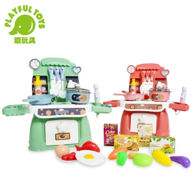 Playful Toys 頑玩具 燈光音樂廚房(兩色可選)
