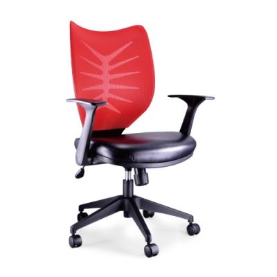 韓菲-福特斯旋轉扶手氣壓傾仰式辦公椅DIY-67x56x97~104cm(黑皮座)