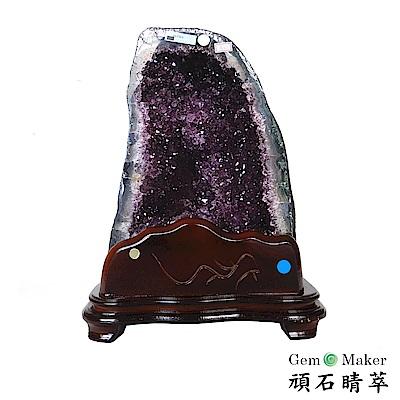 GemMaker頑石睛萃 頂規5A級紫晶洞16.75kg(03)